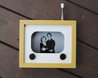 50s Inspired Custom TV Frame