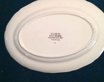 Mascot Royal Colonial China platter