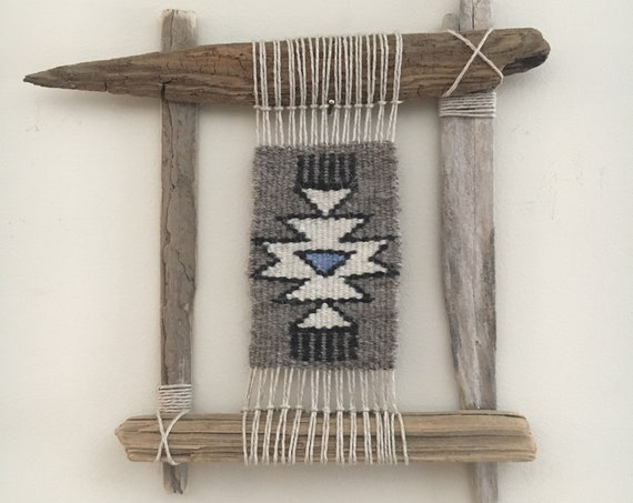 Navajo Inspired, Woven Nature Tapestry