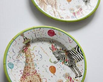 Giraffe plates | Etsy
