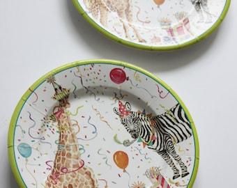 Paper plates | Etsy