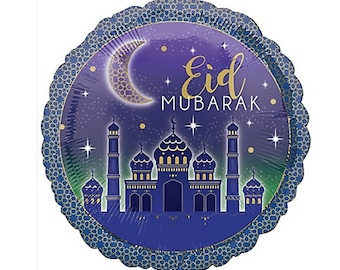 Sale Eid Mubarak Balloon Foil Mylar 17 Balloons Id Eed Happy Eid Decorations Cele Tion Party Eid Al Adha Muslim Islam Mosque Moon Hajj