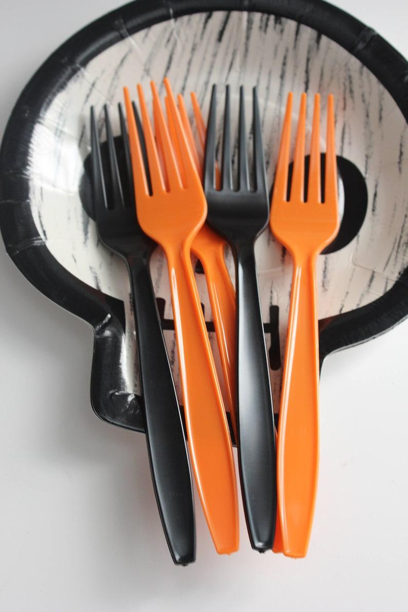 24 Halloween Party  Utensils Cutlery