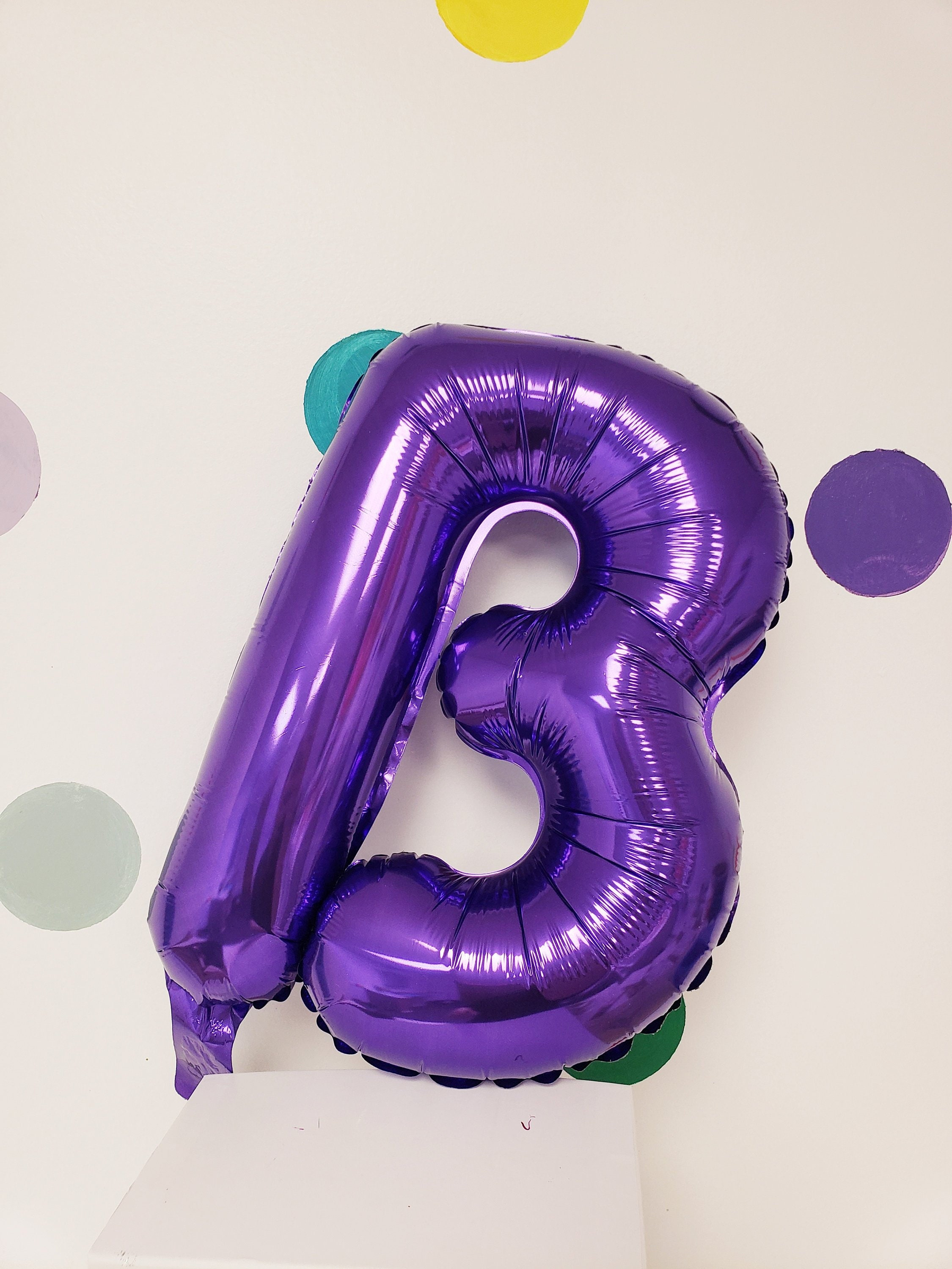 Sale 14 New PURPLE LETTER Balloons Balloon Custom Kit | Etsy
