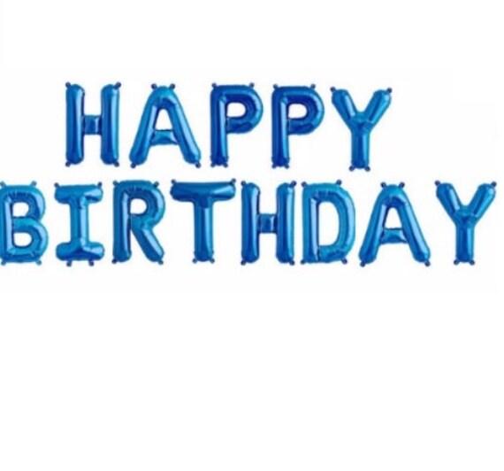 16 HAPPY BIRTHDAY Balloons Balloon Kit Birthday Party