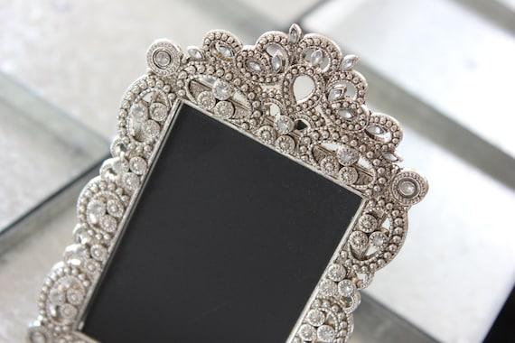Sale Vintage Style Jeweled Rhinestone Frame Gatsby Bling Etsy