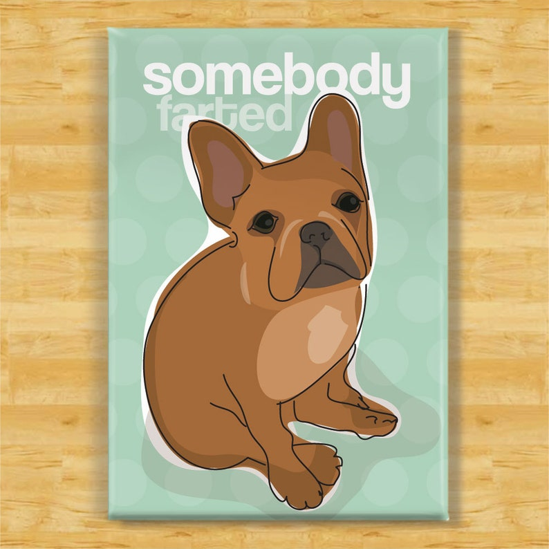 Gifts for dog owners French Bulldog Fridge magnet various designs available