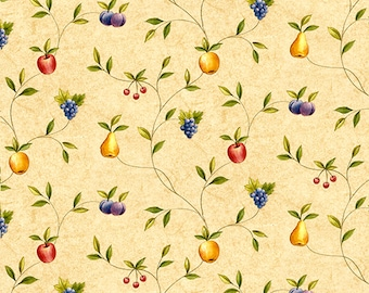 Exceptionnel Dolls House Wallpaper 1/12th Or 1/24th Scale Quality Paper Kitchen Fruit  Miniature #322