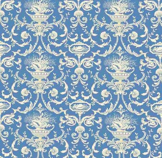 Casa De Muñecas Wallpaper 1//12th 1//24th Escala Azul De Papel De Calidad # 196