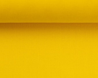 Cotton fabric - Woven fabric - Uni yellow
