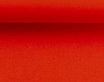 Cotton fabric - Woven fabric - Uni Rot