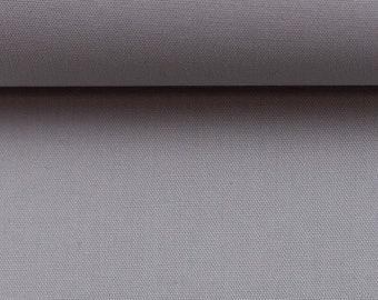 Cotton fabric - Woven fabric - Uni Grey