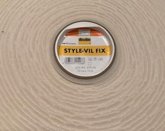 Freudenberg Style-Vil Fix Fleece Line - Sewing insert, temple insert, pocket insert, soft, stable