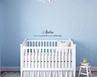 Ángel el cielo por encima Bebé Niña bendición Vivero Pared Arte Calcomanía Vinilo Sticker