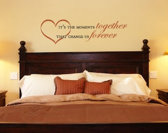Wall Decals Wall Quote Wall Words Wall Sticker - Moments