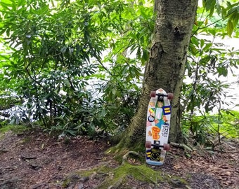 8x10 Glossy Print Skateboard Art