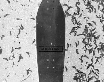 Photo Manipulation Pop Art Skateboard Glossy Print
