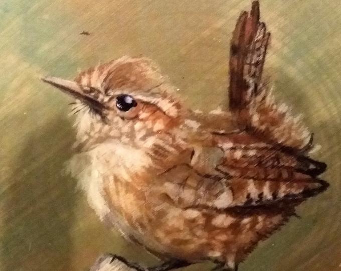 Wren, Canadian Goose, Bluebird, Blue Jay, Bald Eagle, Meadowlark, Pheasant, Teal - Handmade Greeting Cards/Prints from Original Paintings