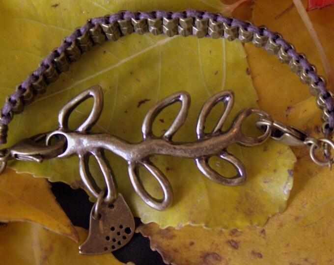 Bird on a Branch Bracelet