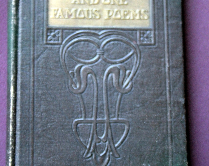 One Hundred and One Famous Poems With a Prose Supplement - by Roy C. Cook  Revised Edition -1929