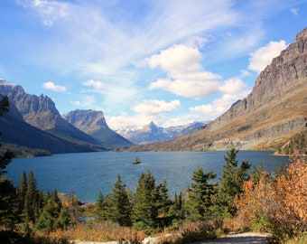 Wild Goose Island - St. Mary Lake- Glacier National Park - Thinwrap