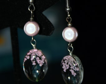 Blossoming Cherry Tree Earrings