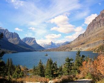 Wild Goose Island - St. Mary Lake- Glacier National Park - Thinwrap