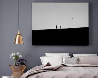 Monochrome Photo / Elegant Wall Decor/ Minimalist Black and White Photography / Minimal Print / Bedroom Decor, Modern Home Living Room Decor