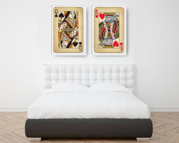 Grote Posters Slaapkamer : Unieke huwelijksgeschenk slaapkamer muren grote posters etsy