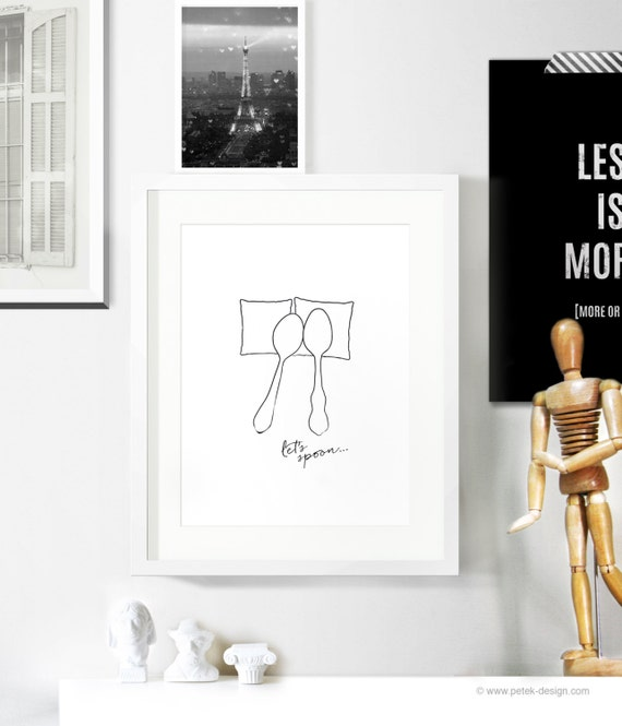 Minimalist monochrome poster black and white home for Buy ikea gift card with paypal