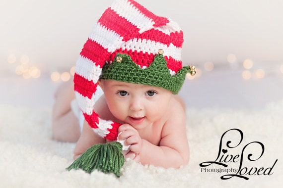 Download Pdf Crochet Pattern 025 Christmas Elf Hat With Etsy
