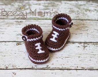 Download PDF crochet pattern b006 - Baby Football boots