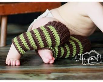 Download PDF crochet pattern - Ribbed leg warmers