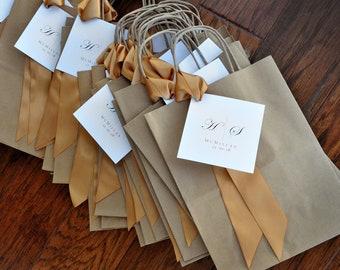 Wedding Favor Bag.  (Qty. 1) Gift Bag for Wedding Guest.  Br8KFT.