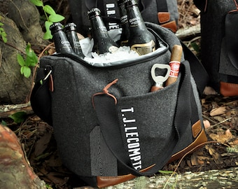 Gifts for Men (Qty. 1).  Gifts for Men Christmas.  Gifts for Him.  Cooler Bag with Bottle Opener. G12WC.