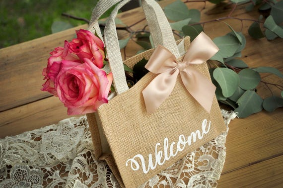 Wedding Guest Gift Bag Qty 1 Hotel Welcome Bag Wedding Welcome