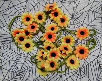 Sunflower Garland 9 Foot Floral Flower Spring Party Home Decor Hippie