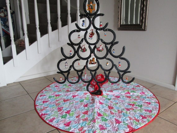 Modern Christmas Trees.Modern Christmas Tree Skirt Quilted Tree Skirt Christmas Decoration Holiday Decor Tree Decoration Christmas Tree