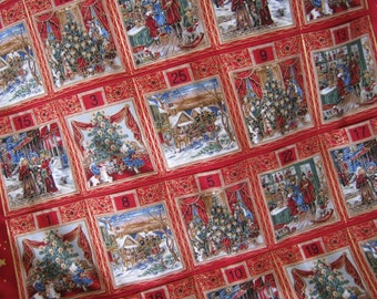 Advent Calendar  A Christmas Story, Holiday Decor, Christmas Decoration, Wall hanging, Christmas Countdown