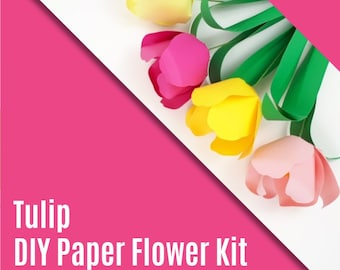 DIY Paper Tulip Kit