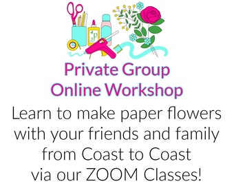 I'm interested to learn more about Private Group Online Workshop