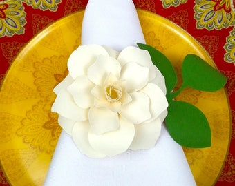 ROSE - Gift Bow - Napkin Holder -  Wedding Favor