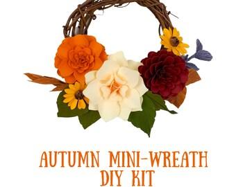 Autumn Mini-Wreath DIY Kit