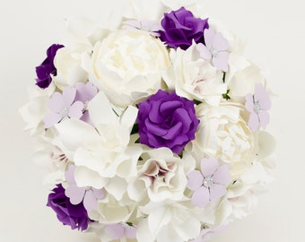 The Maude - Paper Bouquet - Customize your Style and Colors - Made To Order