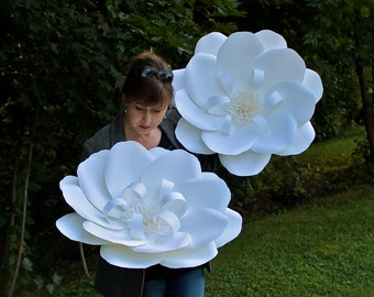 Large Paper Flower Wall