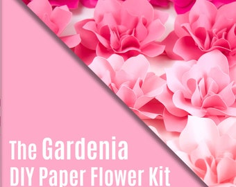 DIY Paper Flower Kit - The Gardenia