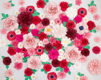The Romantic Paper Flower Backdrop