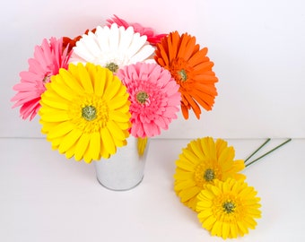 Mix Flowers On Stems