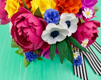 The Kate Spade - Hand-Tied Style  Paper Flower Bouquet