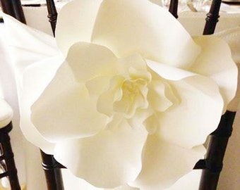 AS SEEN ON Wedding Bells Magazine -  Aisle Decor Paper Flower